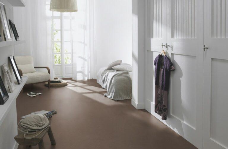 Marmoleum Vloer Groningen in de kleedkamer