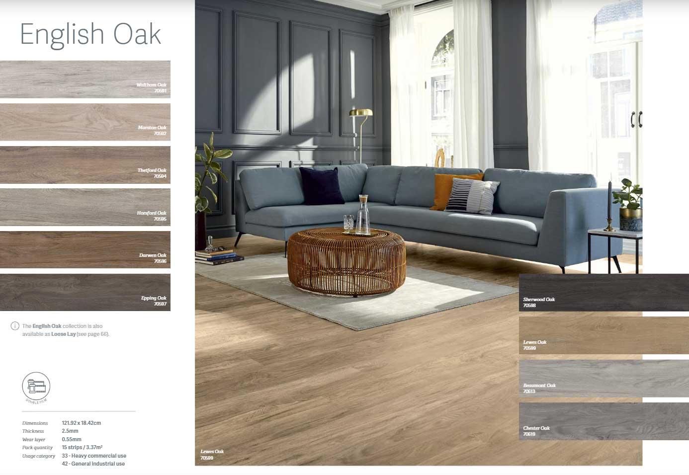 moodbord, impressie, groningen, pvc vloeren, M-Flor PVC vloer