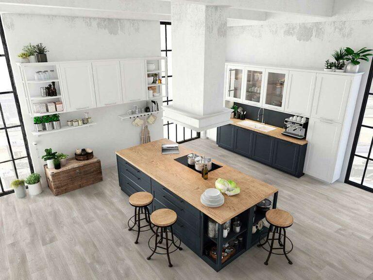 PVC vloeren groningen, PVC vloer Beautifloor in grote keuken